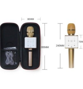 Беспроводной микрофон с колонкой Q7