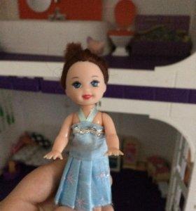 Кукла вместе с платьем