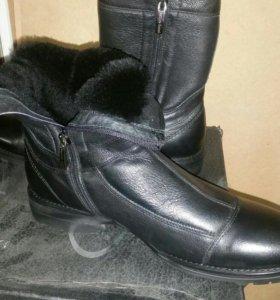 Зимняя мужская новая обувь Battisto Lascari
