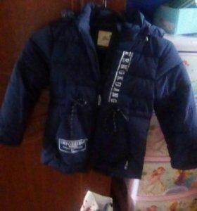 Куртка 110-116,весна- осень
