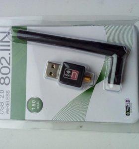 Wi-Fi адаптеры с антенной, USB, новые