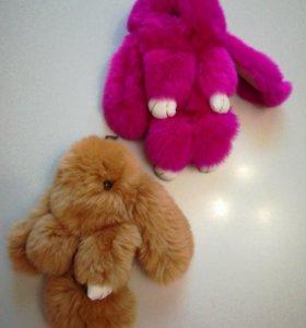 Кролик -брелок-игрушка