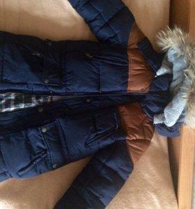 Куртка на мальчика,зимняя