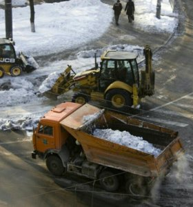 Механизированная очистка территорий от снега