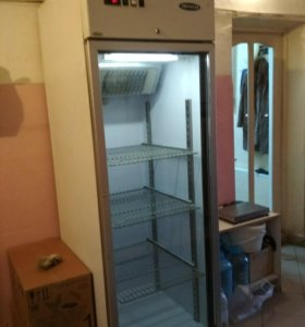 Холодильник однокамерный со стеклом