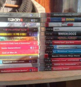 Продажа Playstation 3 с 26 играми на дисках