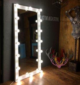 Селфи зеркало с лампами на заказ!