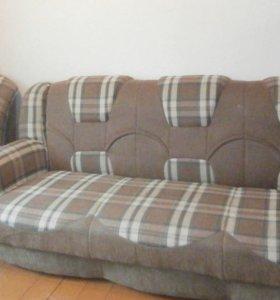 Диван-кровать (+2 кресла)