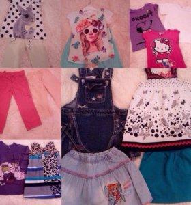 Вещи для девочки (4 года)