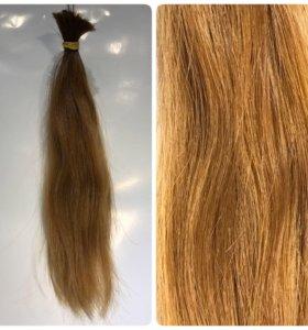Волосы натуральные.срез. 30см.45гр.