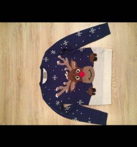 Новый новогодний свитер