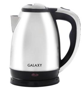 Электрочайник металл 1800 ватт Galaxy GL0311