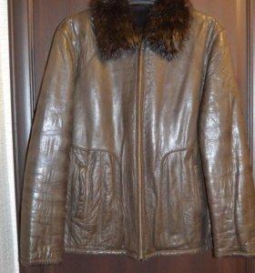 Куртка зимняя мужская (кожа)