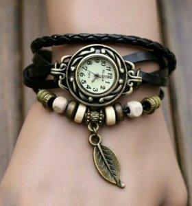Новые женские часы-браслет.