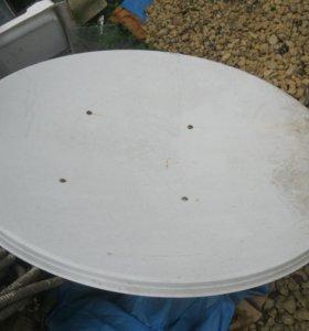 """антенна-""""тарелка"""" 2 шт. 120 диаметр"""