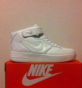 Nike AIr Force Новые Кроссовки Зимние