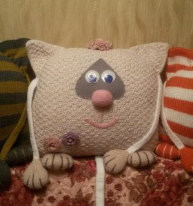 """Интерьерные подушки """"Три Кота"""""""
