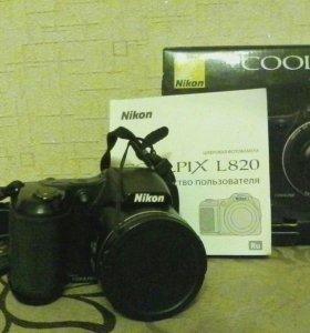 Nikon coolpix. L820