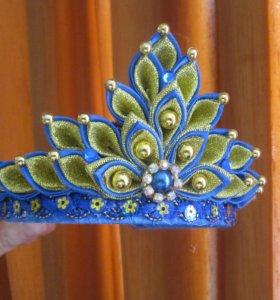 Новогодние короны.
