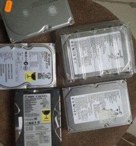 Жёсткие диски 80,60,40Gb