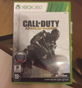 Диск Call of Duty advanced warfare