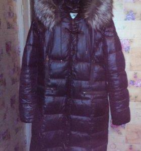 Продаю очень теплый пуховик-пальто