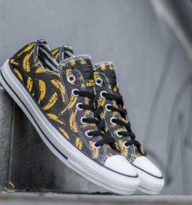 Converse (Andy Warhol, banana)
