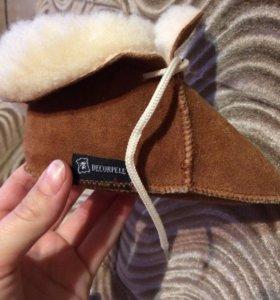 Новые детские ботиночки для дома