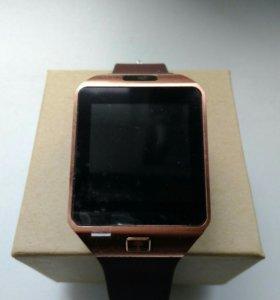 Часы-телефон DZ09 новые