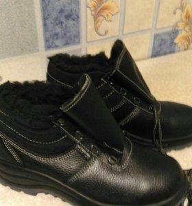 Ботинки зимние с мехом.