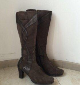 Сапоги зимние замшевые кожаные Lloyd 42 размер