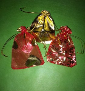 Набор Подарочных мешочков, упаковка