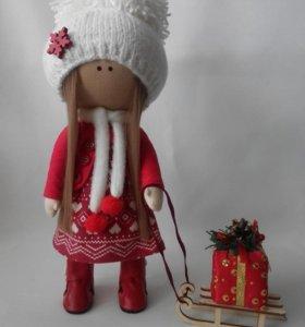 Кукла интерьерная,ручная работа