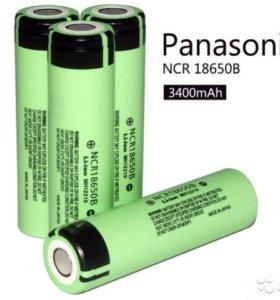 Литий-ионные аккумуляторы Panasonic 18650 - orig