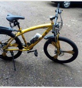 Велосипед Заводской BmwБмв На литых дисках