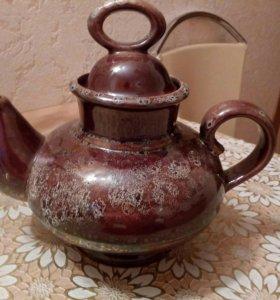 Керамический большой чайник