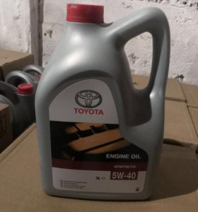 Моторное масло Toyota 5W40 5L