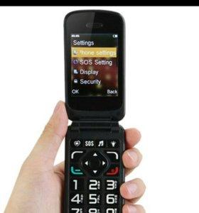 2-Мобильных телефона раскладушки новые.