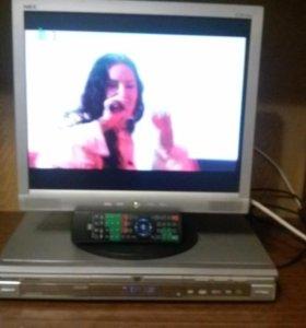 Телевизор Elenberg с DVD плеером