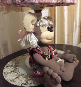 Игрушка ручной работы ,обезьянка Анфиска .