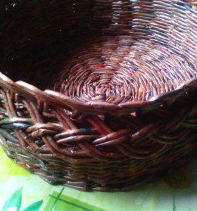 плетёные корзины