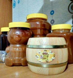 Мёд алтайский 1л