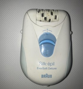 Braun silk epil Eversoft Deluxe эпилятор