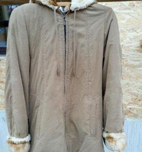 Куртка двусторонняя женская