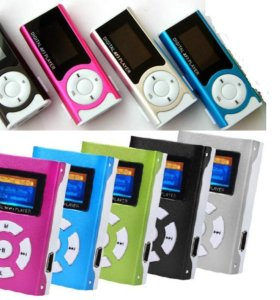 MP3 Плеер с Экраном 2 вида