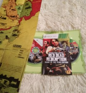 Игра Red Dead Redemption xbox 360