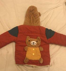 Куртка демисезонная размер 86-93