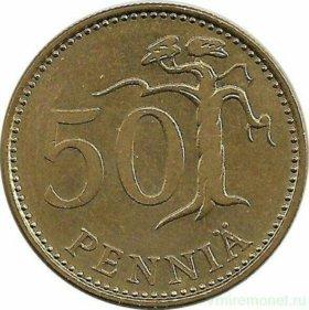 Финская монета 1985г.