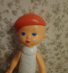 Кукла ссср Сморгон мальчик в берете