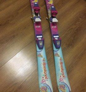 Детские горные лыжи 100см.